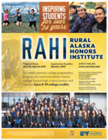 RAHI Student Application Deadline-March 1st, 2017